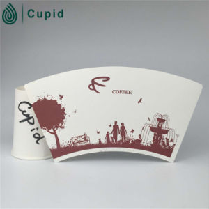 Hztl Double Wall Print Design Cup Paper pictures & photos