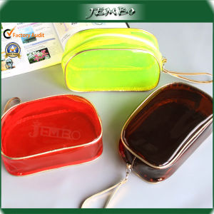 Reusble Travel Candy Color Fashion PVC Cosmetic Bag pictures & photos