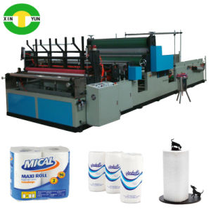 Equipment for Perforating Kitchen Paper Roll Making Machine pictures & photos