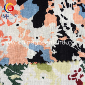 Cotton Linen Spandex Fabric for Woman Garment Textile (GLLML099) pictures & photos