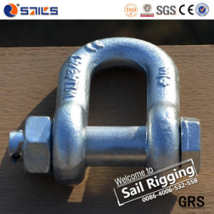 Hot DIP Galvanized Forged Us Shackle G2150 pictures & photos