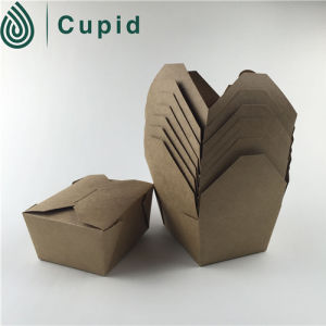 Food Contact Paper Hamburger Boxes pictures & photos