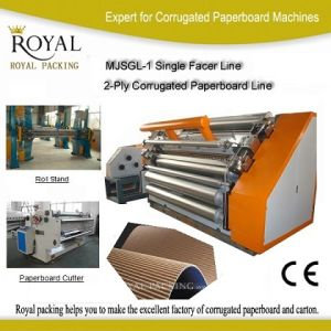 Carton Box Making Machine Prices Mjsgl-1 pictures & photos