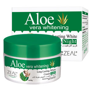 Zeal Aloe Vera White & Moist Night Cream Face Moisturizer pictures & photos