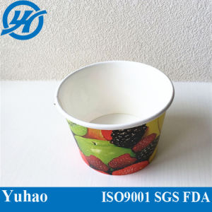 8oz Best Quality Promotional Disposable Ice Cream Cup (YHC-073) pictures & photos