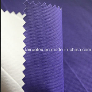 100% Poly Taslon with White Coated for Sportswear Clothes pictures & photos