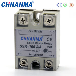SSR-10va Solid State Relay Solid State Variable Relay 220V Solid State Relay pictures & photos