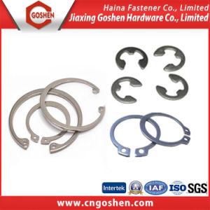 Stainless Steel Lock Washers Retaining Rings for Shafts DIN 472 DIN 471 pictures & photos