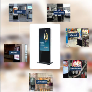 (apple) Cabinet-Type Single Version Advertising Machine pictures & photos