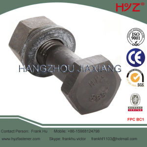 Grade 10.9 High Tensile Hexagon Head Bolt pictures & photos