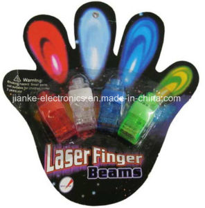 Christmas Party LED Flashing Finger Beams with Logo Printed (4012) pictures & photos