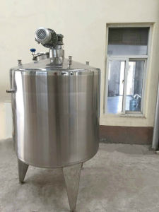 Steam Heating and Cold Water Cooling Jacketed Tank