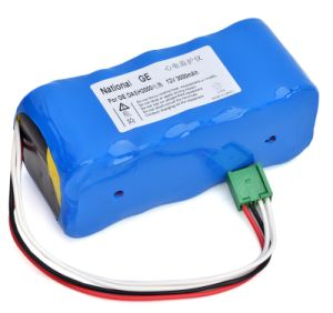 Replacement Vital Signs Monitor / ECG Battery for Ge Dash 2000