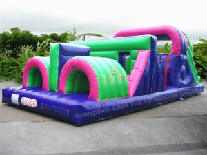 Party Hire Inflatable Obstacle Courses Garden Challenge for Children pictures & photos