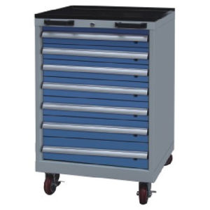 Westco Mobile Cabinet with Drawers (Workshop Trolley, Rolling Cabinet, MDC-1100-7)