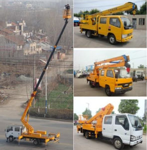 Jmc 14 Meters Overhead Working Truck Cherry Picker pictures & photos