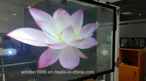 3D Holographic Rear Projection Film Transparent for Advertising pictures & photos