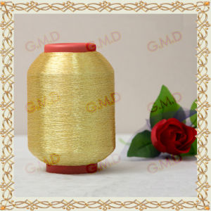 St Type 600d Pure Golden Metallic Yarn for Embroidery