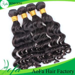 Wholesale Price 100% 7A Bundles Virgin Brazilian Human Hair Weft pictures & photos