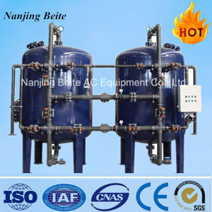 Full Automatic Back Wash Quartz Sand Filter / Activated Carbon Filter Water Filter System