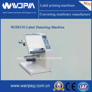 Automatic Label Inspection Machine (WJJB-350) pictures & photos