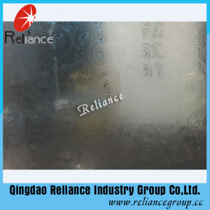 4mm/5mm/6mm Color Designed Art Glass / Hotel Decoration Glass/ Acid Etched Decorative Glass pictures & photos