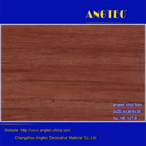 Cheap and Waterproof Wood Plastic Composite Vinyl Top WPC Flooring pictures & photos