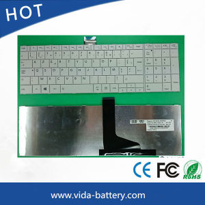 Computer/Notebook/Laptop Keyboard for Toshiba C850 White Fr pictures & photos
