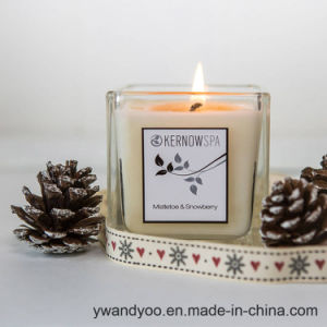High Quality Scented Soy Glass Candle in Big Jars for Sale pictures & photos