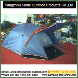 Grow Waterproof Dropshipping Double Layer 4 Person Camping Tent pictures & photos