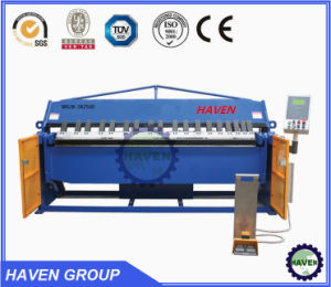 WH06-2.5X1220 Manual Type Steel Plate Folding and Bending Machine pictures & photos
