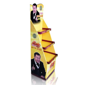 Food Cardboard Display, Fashinable Paper Store Display pictures & photos