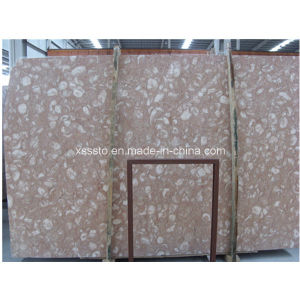 Natural Stone Butterfly Red Marble Flooring pictures & photos