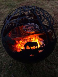 China Wholesale Large Garden Fire Pit