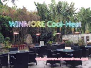 Energy Heater Heating Element Wall Mounted IP65 for Outdoor Restaurant/Coffee/Bars pictures & photos
