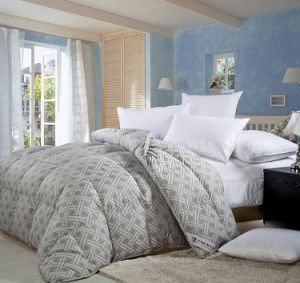 New Design Cover White Goose Down Comforter pictures & photos