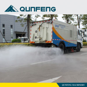Automatic Road Cleaning Truck High Pressure Water Spray pictures & photos