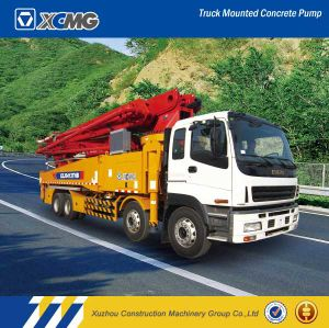 XCMG Official Manufacturer Hb52b 52m Truck Mounted Concrete Hydraulic Pump pictures & photos