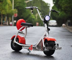 2016 Popular Harley Scrooser Style Electric Scooter with Big Wheels, Fashion City Scooter Citycoco pictures & photos