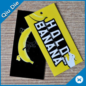 Two Sides Printing Colorful Hangtag for Apparel Accessories pictures & photos