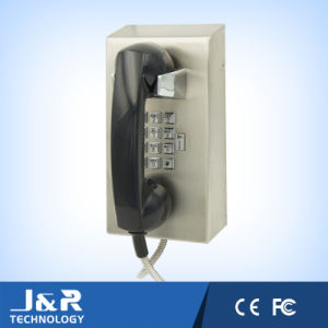 J&R Flush Mount Stainless Steel Emergency Telephone with Handset pictures & photos
