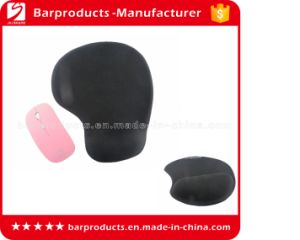 Black Silicone Wrist Rest Mousepad