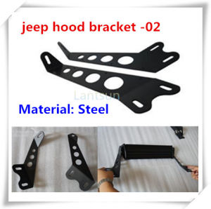 20 Inch LED Light Bar Hood Bracket for Jeep Wrangler pictures & photos