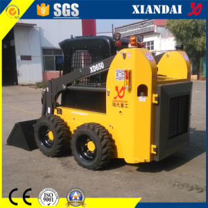 0.4m3 Xd650 Skid Steer Loader for Sale pictures & photos
