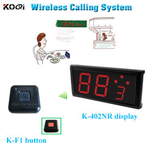 Most Popular Improved Restaurant Service Level Wireless Service Waiter Remote Call Bell System pictures & photos