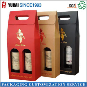2017 High Quality Wine Paper Bag with Fashion Design pictures & photos