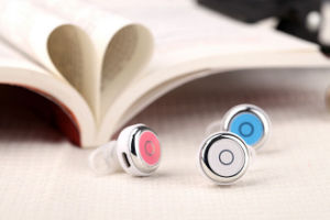 CSR4.0 Stereo Mini Earhook Wireless Bluetooth Earphone Headphone pictures & photos