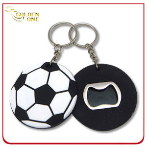 Novelty Promotion Football Shape Soft PVC Opener pictures & photos