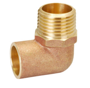 Brass Pipe Fitting with Reducing Elbow Union Bf-19002 pictures & photos