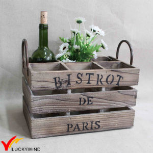 Vintage Artificial Wooden Container for Storage Crate pictures & photos